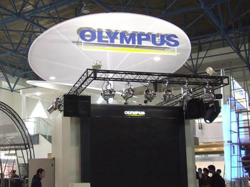 2006年P&E现场:奥林巴斯展台
