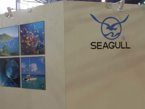 2006年P&E现场:海鸥展台