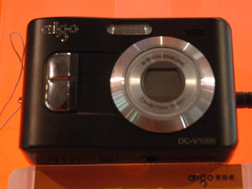 2006年P&E现场报道:爱国者数码相机新品