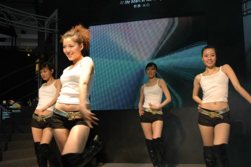 2006年P&E现场:五大清凉美女(组图)