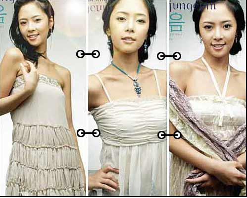 服装:韩国夏装 四大主题秀(11款)