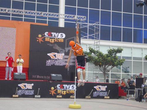 CCTV孵化体育吉尼斯 娱乐篮球率先破题