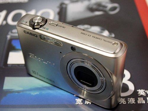 2006年P&E:卡西欧最新1010万像素数码相机Z1000