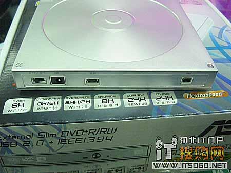 薄的艺术 华硕0806T-D外置DVD刻录机