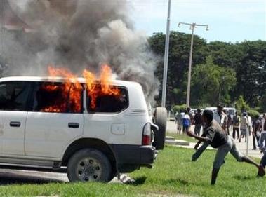 东帝汶解雇近600国防军引发骚乱 华人商铺被烧