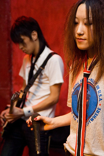 图文:pink7乐队成员小资料