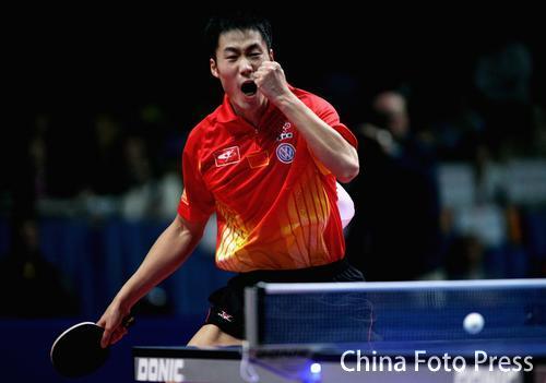 世乒赛男团战巅峰对决 中国3-0韩国实现三连冠