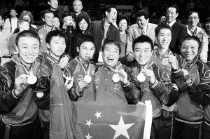 新人和双打考验中国队 08年奥运任重道远