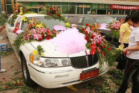 花卉市场和婚庆公司联姻一站式婚庆服务