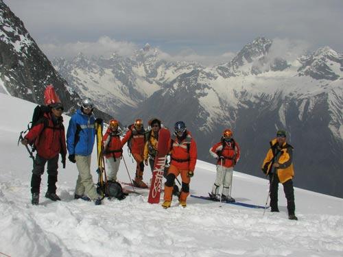 国人首次高海拔登山滑雪活动圆满成功[图]