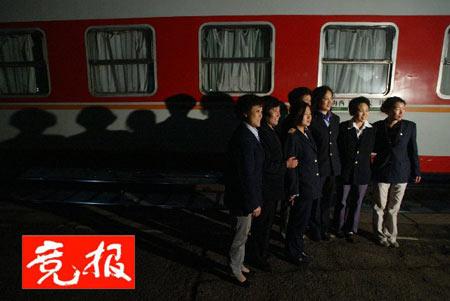 老北京南站昨晚平静谢幕 新南站2007年建成(图)