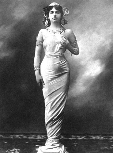 玛塔·哈莉:20世纪著名风流女间谍