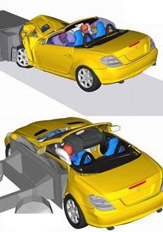 车身碰撞解析图