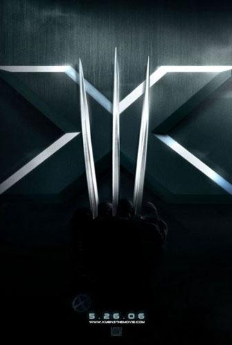 电影《X战警3》精彩海报-1