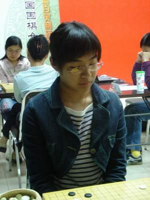 """图文:女子新老对抗赛第八轮 王祥云""""复出"""""""