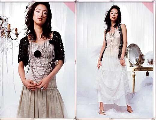 服装:轻柔淑女