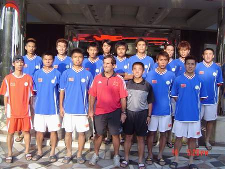 备战沙足世界杯 中国国家队厦门正式成立(组图