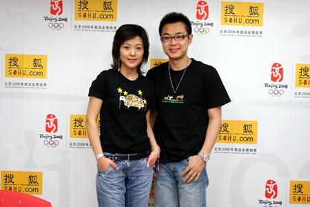 谢雨欣做客搜狐直面传闻:我出道前就有孩子了