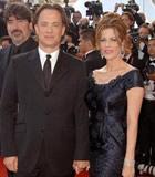 第59届戛纳电影节星光大道-汤姆汉克斯可爱发型