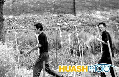 陕西汉中劳教人员用手机订购毒品(组图)