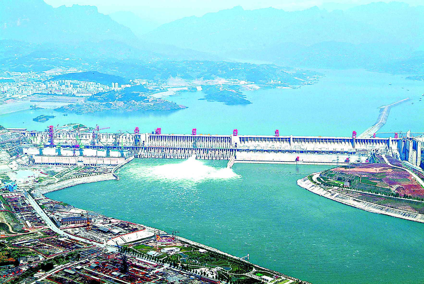 世界第一坝昨全线建成