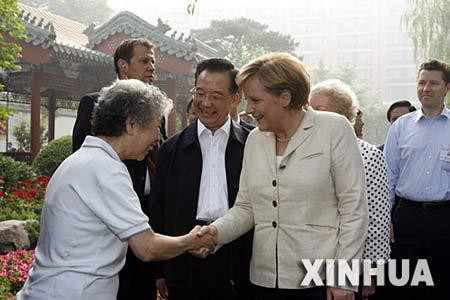 德国总理默克尔今起访华 德方将会获得大额订单
