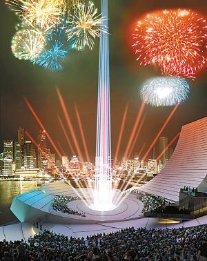 """""""古板""""新加坡改变形象 将要建赌场度假村(图)"""