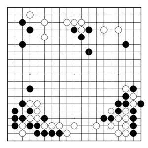 围棋周刊棋局经典-古力力战的技巧