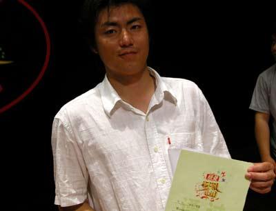 《梦想中国》上海赛区绿卡选手:万江