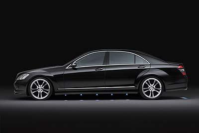 德国BRABUS 奔驰全新S级轿车登陆中国