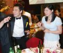 图文:名将夏煊泽杭州完婚 罗雪娟参加婚礼