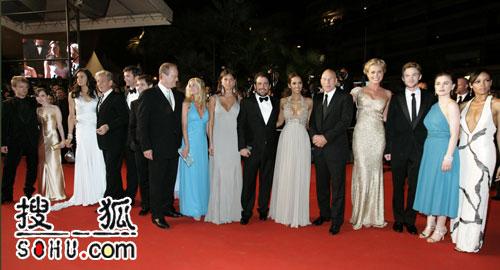 《X战警3》戛纳首映 众多主演齐亮相光彩照人