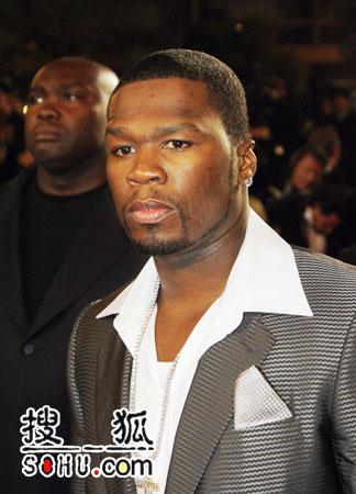 《X战警3》首映 Curtis 50 Cent Jackson亮相