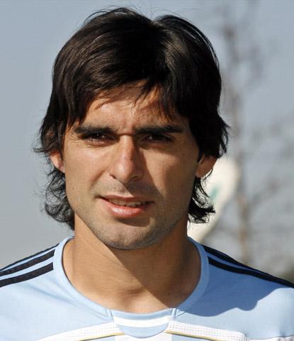 阿根廷备战世界杯 后卫阿亚拉