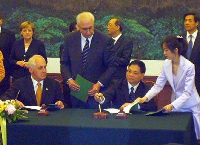 中国残奥会与德国残奥会签署合作协议