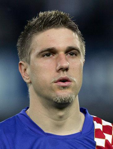 06世界杯克罗地亚队队员 前锋克拉什尼奇