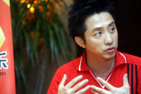 庾澄庆搜狐畅谈世界杯 不会和老婆抢电视看球