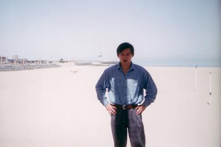 图文:苏东酷图欣赏 站在四海边上