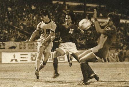 图文:陈熙荣老照片 82年世界杯外围赛