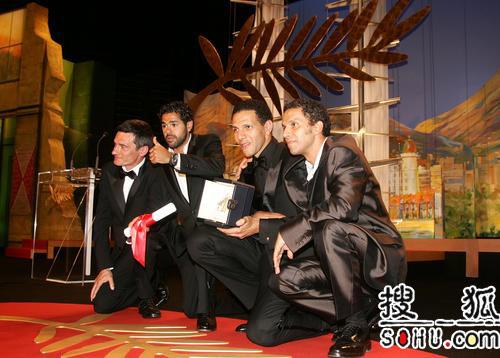 59戛纳颁奖礼 最佳男主角《光荣之路》5位男星