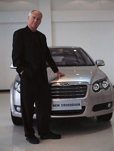 惊天爆料:乔治阿玛尼参与设计奇瑞V5?