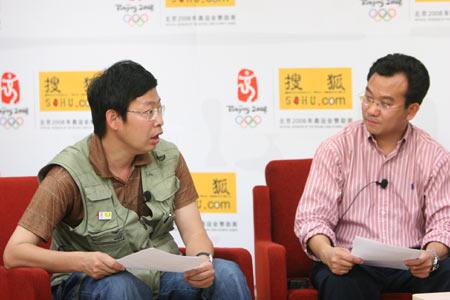 搜狐副总裁陈陆明及首席记者方肇聊世界杯实录