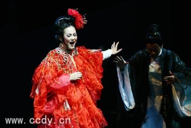中央歌剧院原创《杜十娘》中剧西唱舞美好看