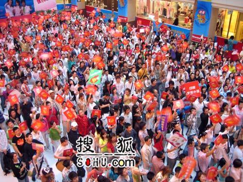 《梦想中国》成都赛区现场:成都雄起-2