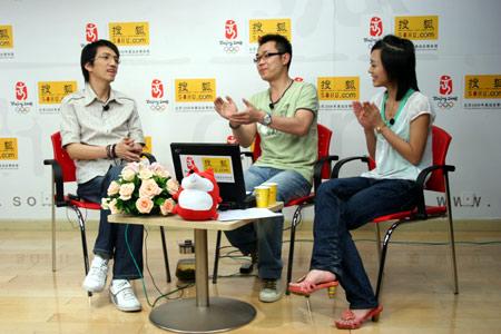 林志炫谈婚论嫁 透露优客李林解散原因(组图)