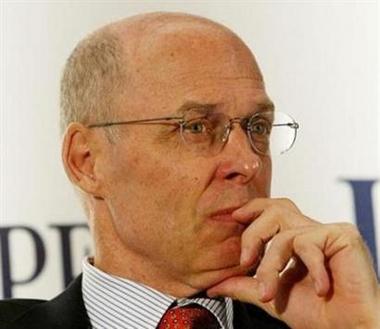 美财长斯诺将宣布辞职 布什选中高盛董事长接任