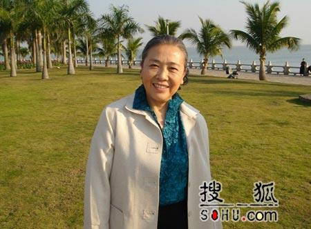 """《沙家浜》热播 """"沙奶奶""""张志彤再度演母亲"""