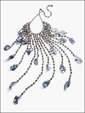 晚装珠宝手绘图