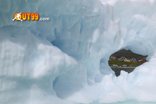 消融的格陵兰