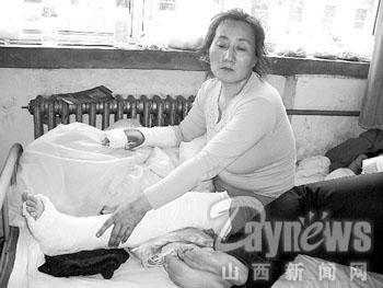 农民工工伤事故死亡亲属探情况惨遭棍打(图)